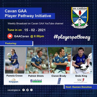 Ciaran Brady Showcased on CavanGAA Youtube Channel, discussing what people look for as employers.