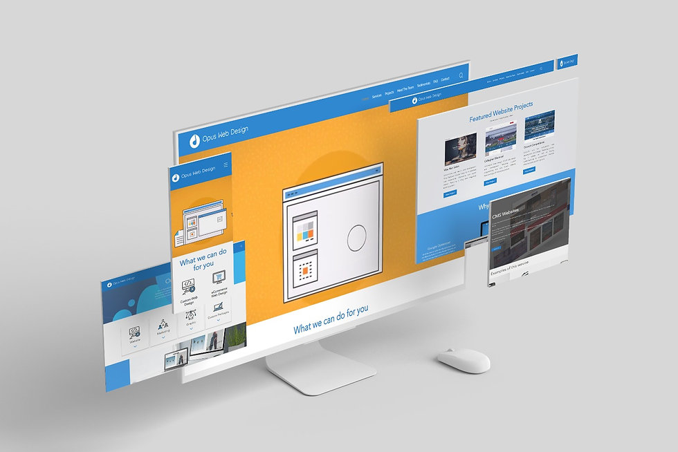 Opus Web Design Website