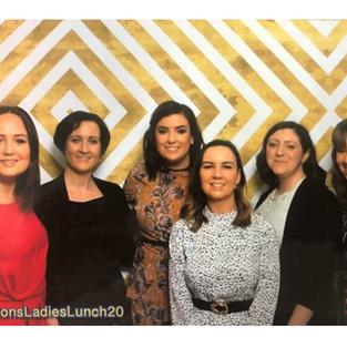 KBG attended Lions Ladies Lunch, fundraiser for Lions Club Cavan, on Saturday 7th March in the Farnham Estate Hotel. Left to right Louise Quinn, Caroline Lee, Fionnuala Leydon, Finola Brady, Eimear O'Neill and Bernice Clarke.