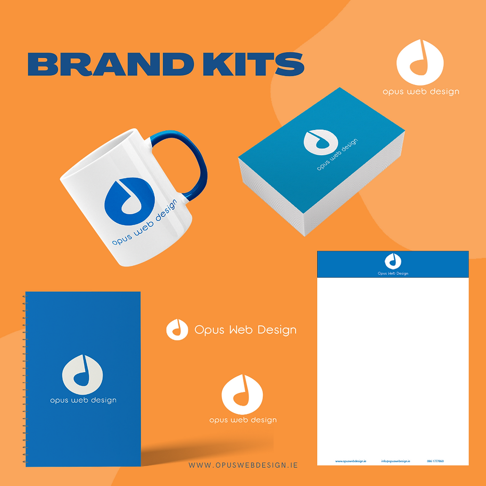 Opus Web Design Brand Kit Services