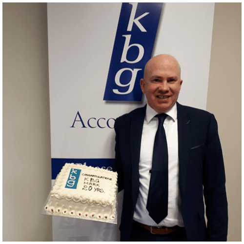 Congratulations Mark on 20 years with KBG
