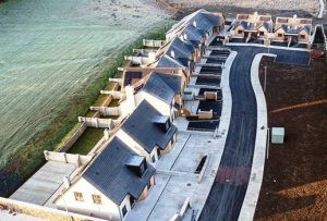 Housing Development Owenmore Drive, Collooney, Co Sligo at completion stage