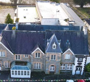 Restoration of an 1850's landlords residence building to a boutique hotel