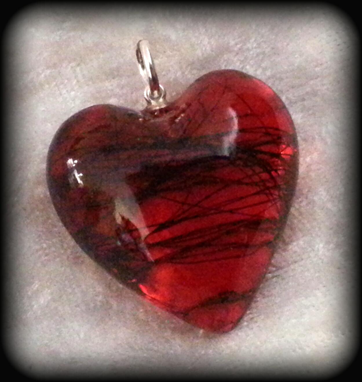 Large 3D Heart Transparent