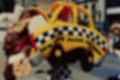 NY Super Fudge Chunk taxi costume