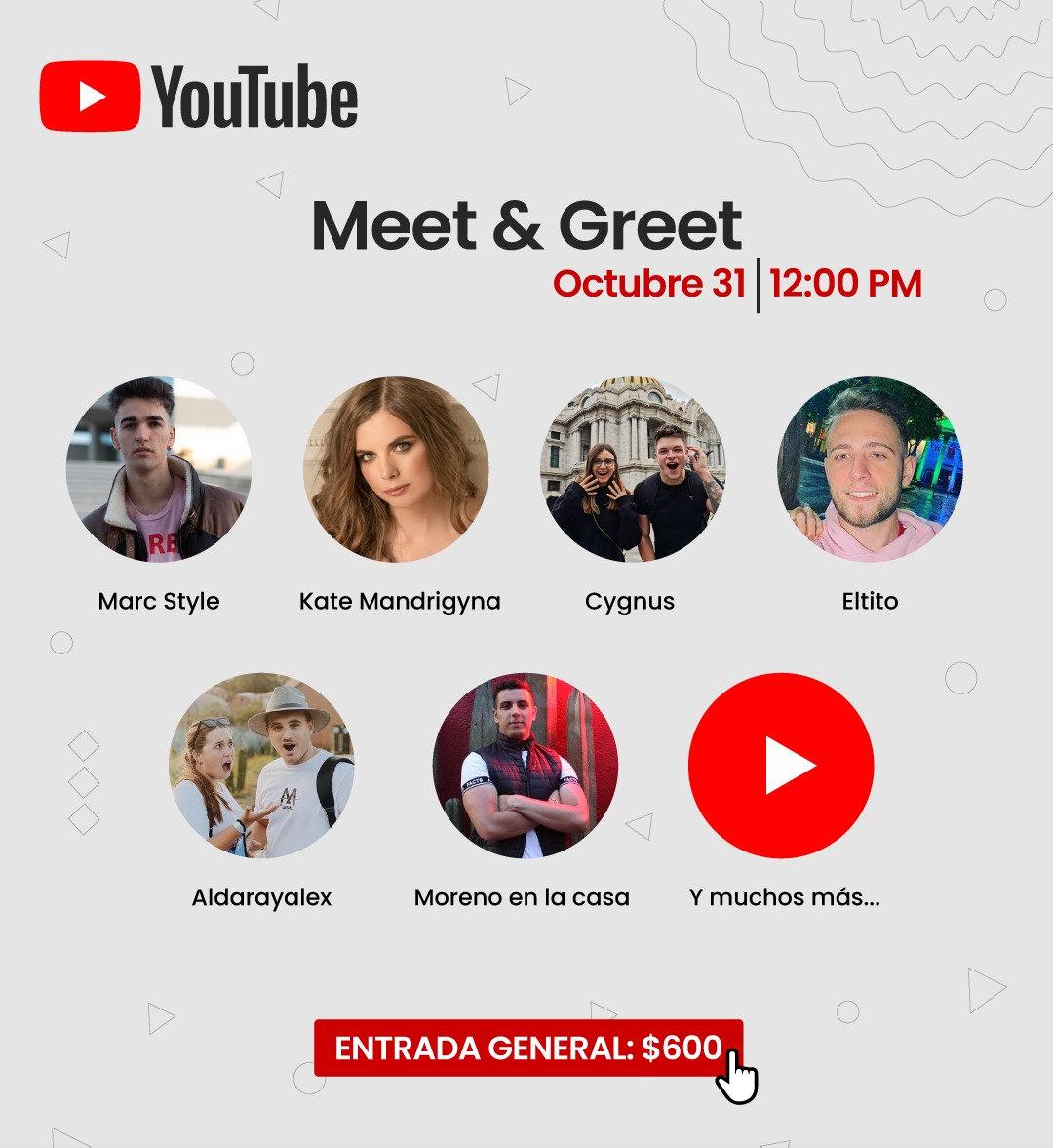 Meet & Greet con Youtubers