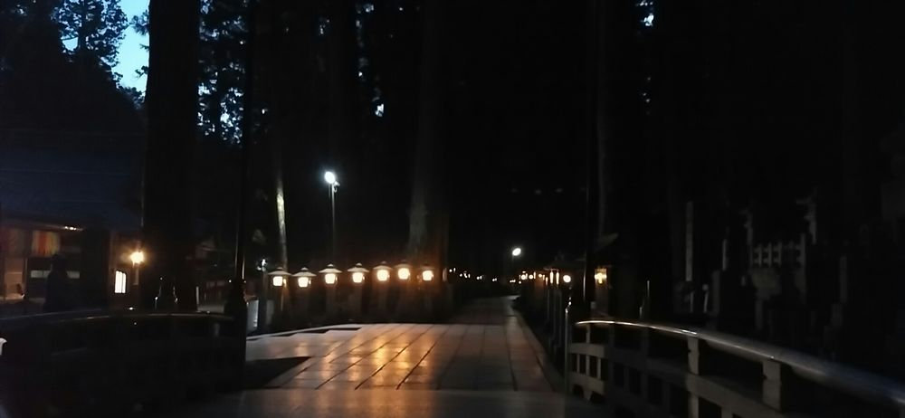 Private Night Tour of Okunoin  (1.5h)