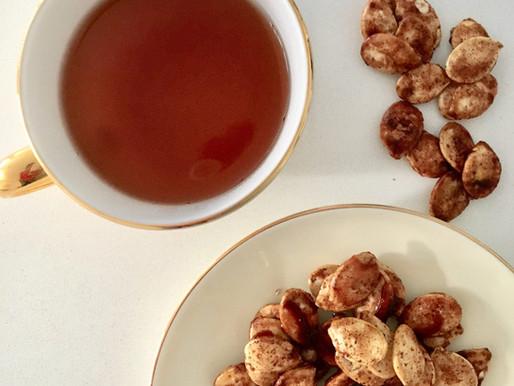 Cinnamon Spiced Pumpkin Seeds