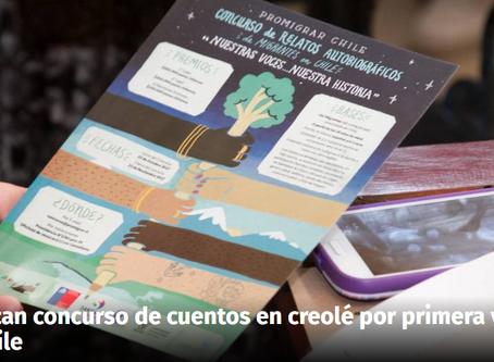 Realizan concurso de cuentos en créole por primera vez en Chile