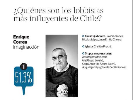Enrique Correa encabeza ranking de Encuesta El Poder de Chile 2018