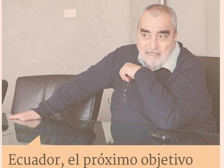 Ecuador, el próximo objetivo regional de Enrique Correa a través de Imaginaccion