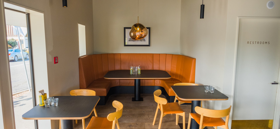 Private dining and large group options at The Birdwood Pizzeria
