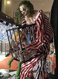 personnage animé clown ça