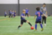 Junior Storm foot skills