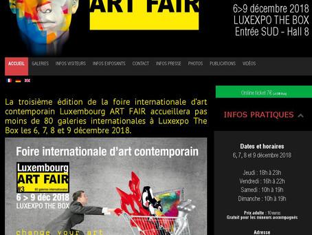 Lux Art Fair  :  programme et infos