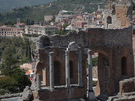 Mai  2021 - Horizons  - Taormina, le théâtre