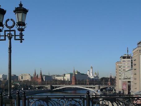 Avril  2021  - Horizons  -  Moscou au printemps
