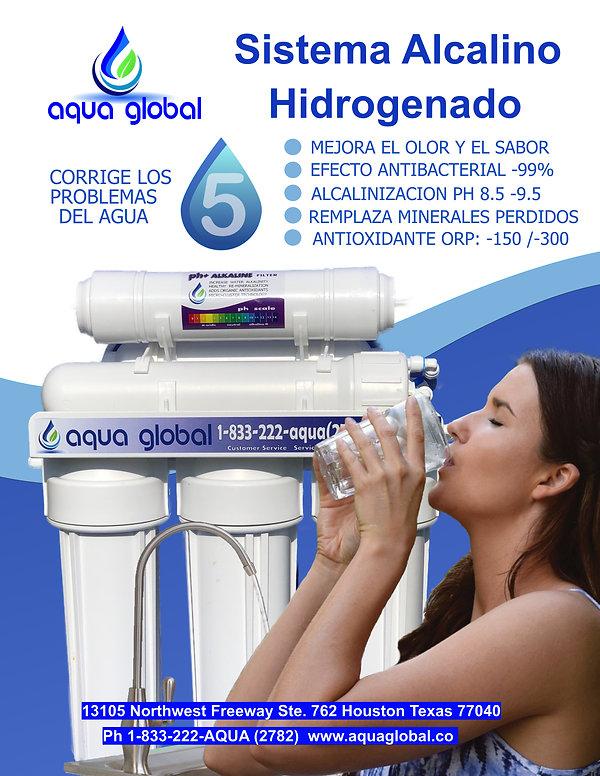 Aqua Global Nuevo Reverse Osmosis Alkali