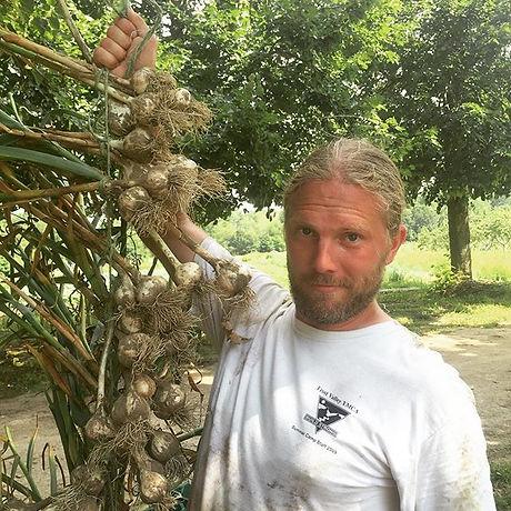 Bringing in the garlic! #watchoutvampires