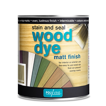 Polyvine Stain and Seal Wood Dye - 500ml