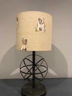 Natural Dog Lampshade
