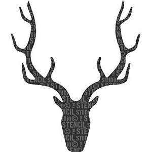 Simple Stag Stencil