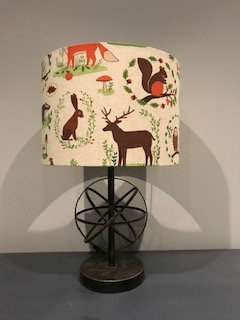 Country Woodland Lampshade