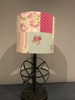 Floral Patchwork Lampshade