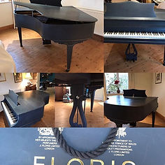 Bespoke baby grand piano finished... ins