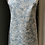 Thumbnail: Blue leaf handmade apron