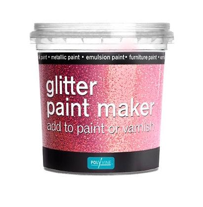 Pink - Glitter paint maker
