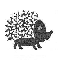 Horace Hedgehog Stencil