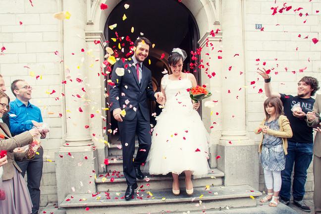huwelijksreportage kerk