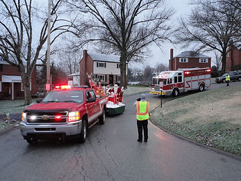 East Carnegie Fire Department Operation Santa
