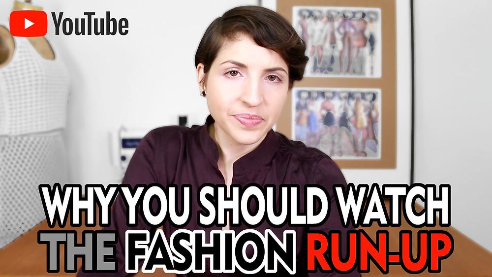 YouTube The Fashion Run-Up Emily Keller