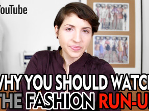 My YouTube Channel: The Fashion Run-Up