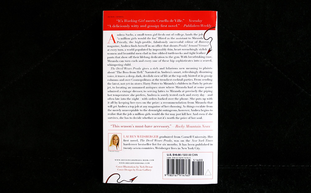 The Devil Wears Prada Book