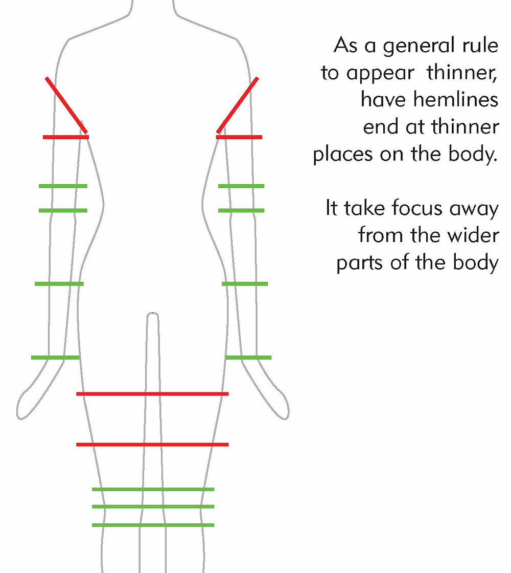 Ideal Garment Hem Lines