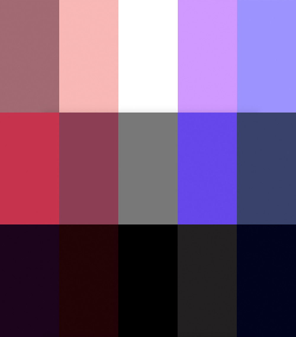 Curated Closet Color Palette Anuschka Rees