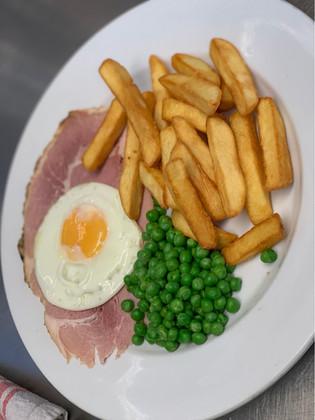 £6 Ham, egg & Chipps
