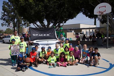 SpaceX 7773 Foundation children