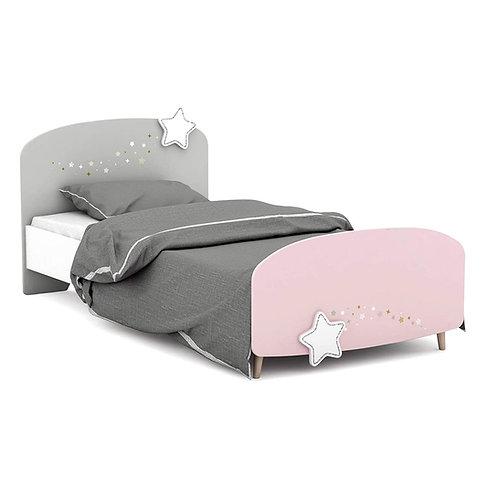 Kinderbett Himmelssterne 90 x 190 cm Jugendliege Bettliege Bett Holz Bettgestell