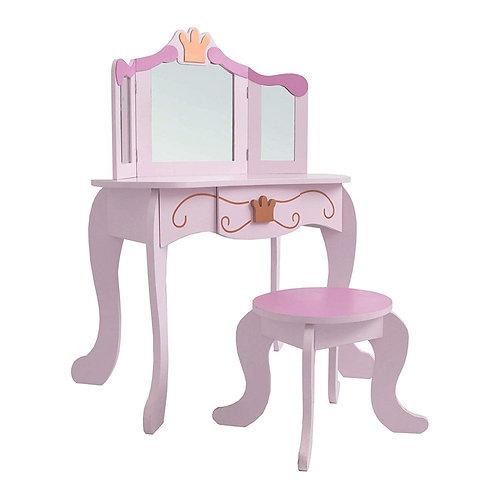Kinderschminktisch (#333) Kindertisch Prinzessin Kinder Mädchen Schminktisch