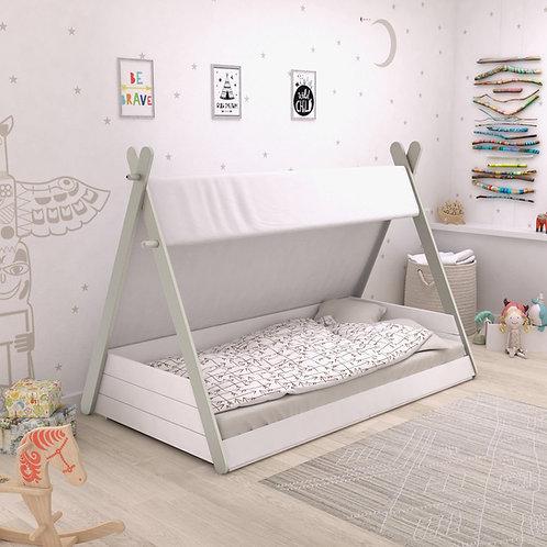 Babybett TIPI mit Lattenrost 70x140cm