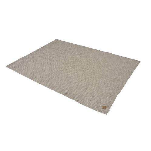 Teppich Läufer 140 x 200 cm Flurteppich schmutzabweisend ohne Fransen