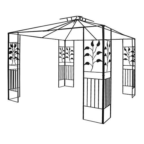 Pavillongestell Metalll Pavillon 3x3m Pavillion Ersatzgestänge Gartenpavillon