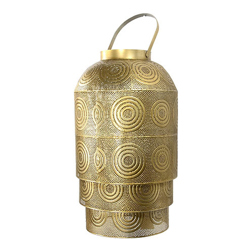 Orientalische Metall Laterne für Außen und Innen 40 x 34 cm groß