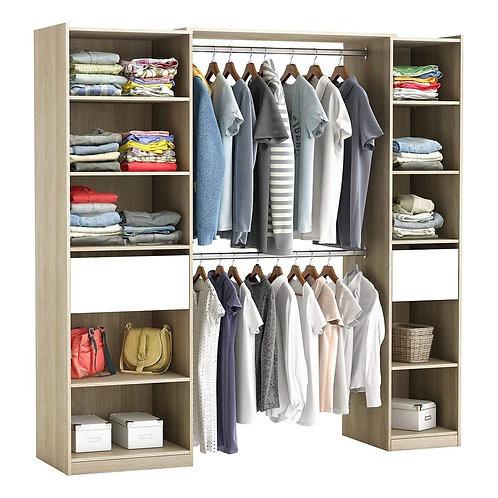 Kleiderschrank #5077 begehbar
