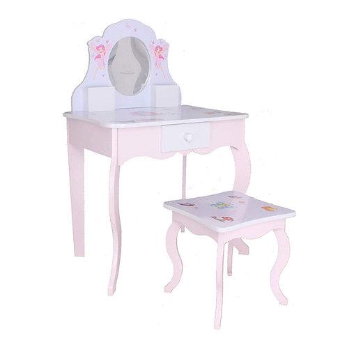 Kinderschminktisch #426 Kindertisch Prinzessin Kinder Mädchen Schminktisch