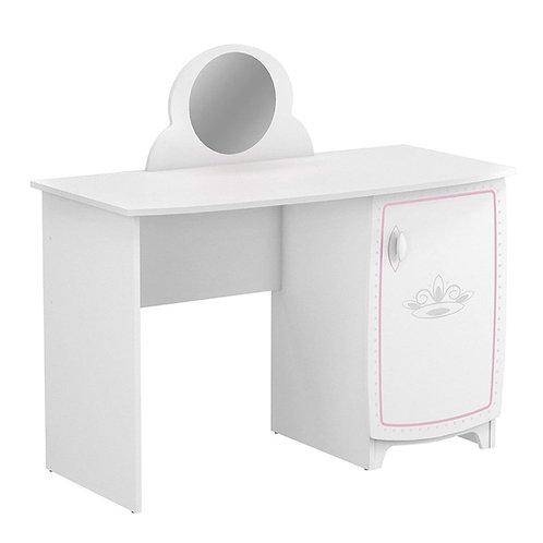 Kinder Schreibtisch #419 Kindertisch Tisch Prinzessin Spiegel Tür Schminktisch